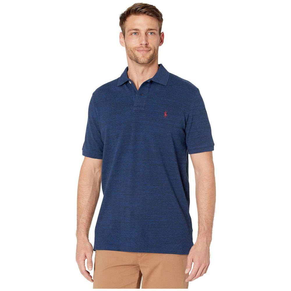 ラルフ ローレン Polo Ralph Lauren メンズ トップス ポロシャツ【Classic Fit Polo】Monroe Blue Heather