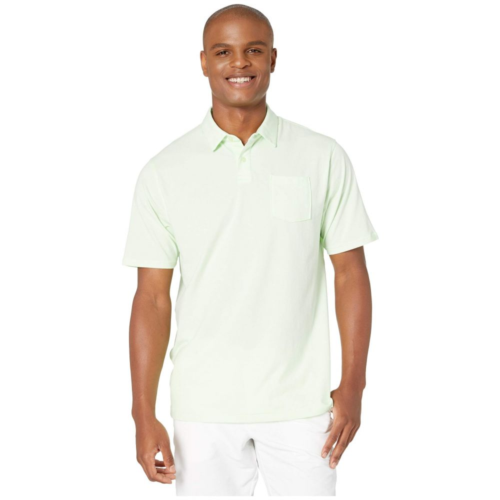 アンダーアーマー Under Armour Golf メンズ トップス ポロシャツ【New Charged Cotton Scramble Polo】Phosphor Green/Phosphor Green