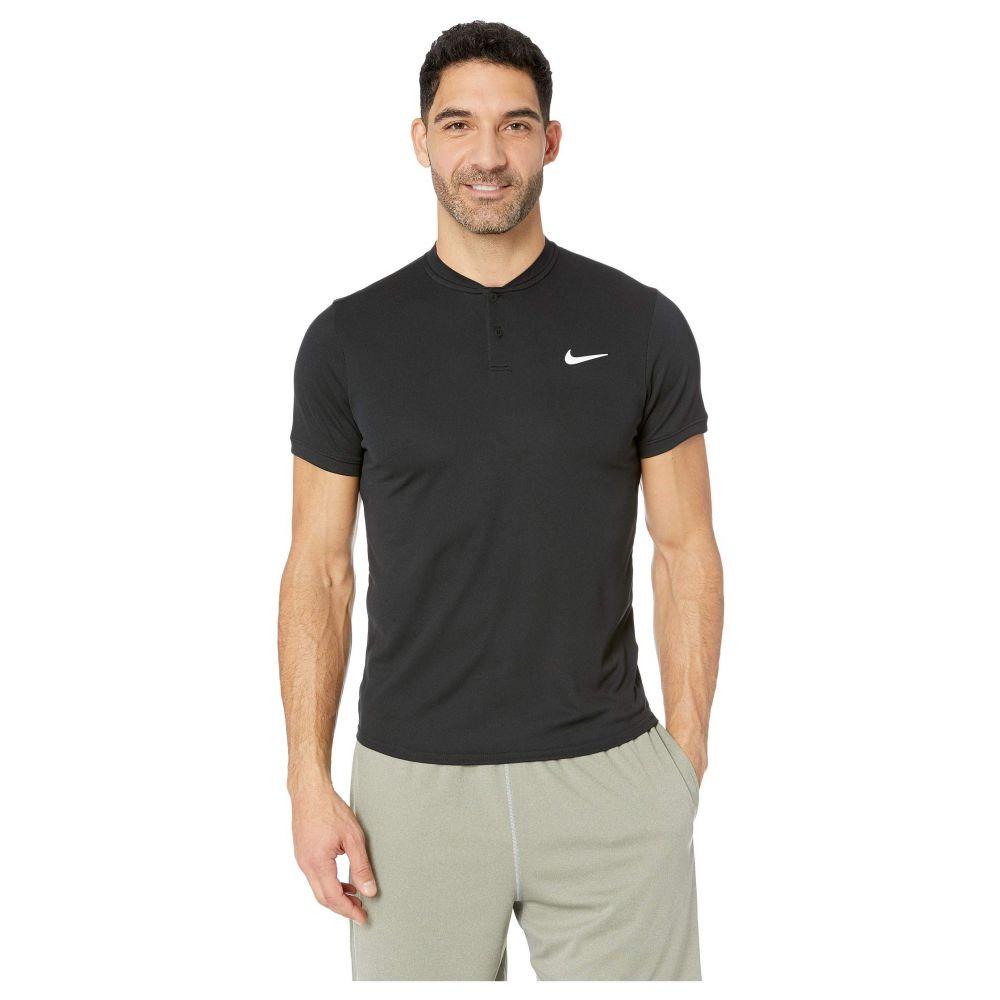 ナイキ Nike メンズ トップス ポロシャツ【Court Dry Polo Blade】Black/White