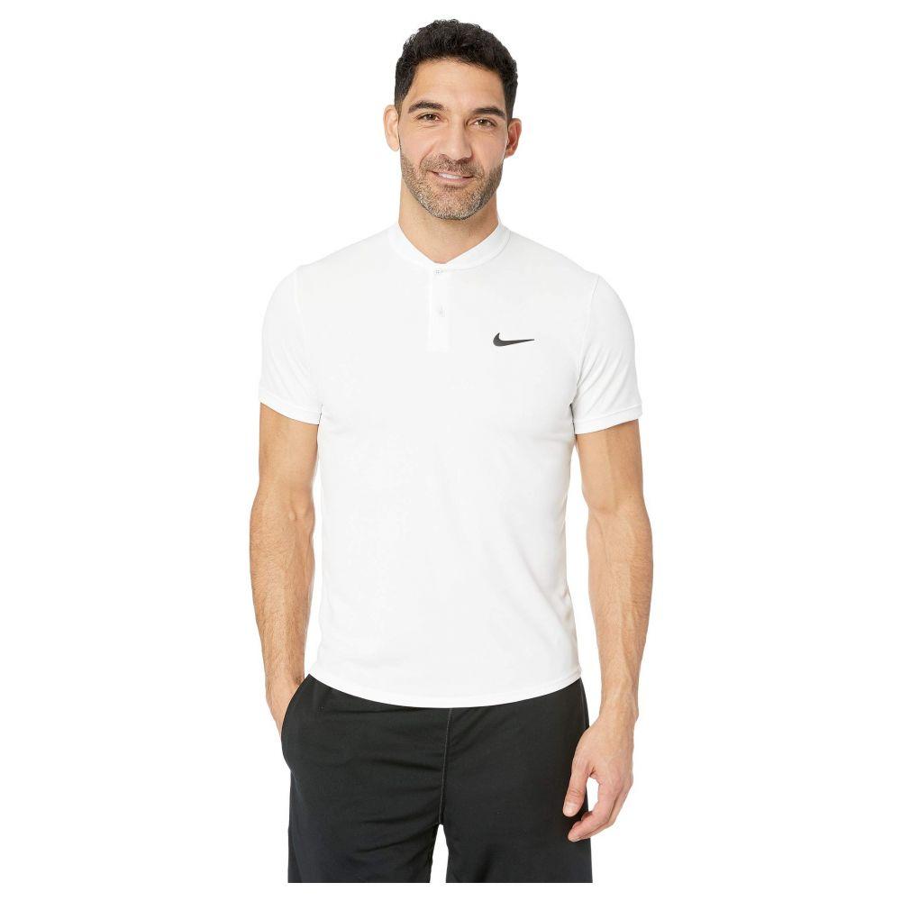 ナイキ Nike メンズ トップス ポロシャツ【Court Dry Polo Blade】White/Black