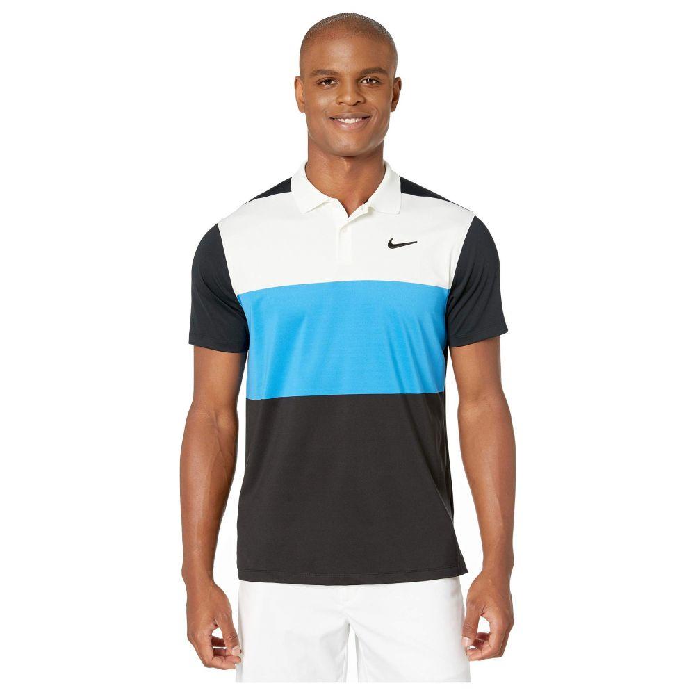 ナイキ Nike Golf メンズ トップス ポロシャツ【Dry-Fit Vapor CB Polo】Sail/Light Photo Blue/Black/Black