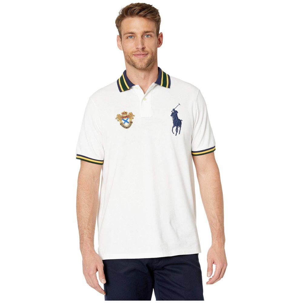 ラルフ ローレン Polo Ralph Lauren メンズ トップス ポロシャツ【Short Sleeve Animated BPP Mesh - Classic】White