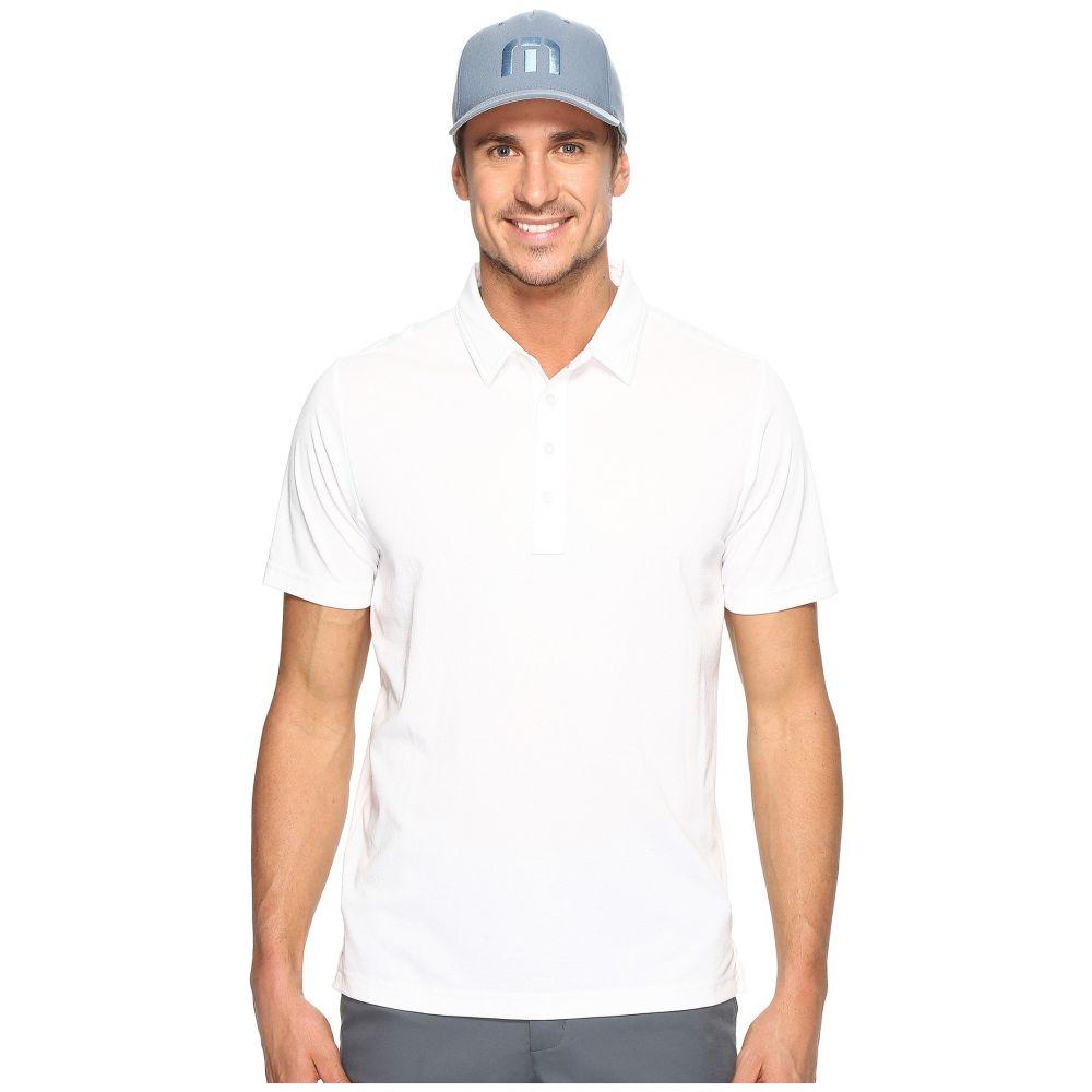 トラビスマシュー TravisMathew メンズ トップス ポロシャツ【The Ten Year Polo】White