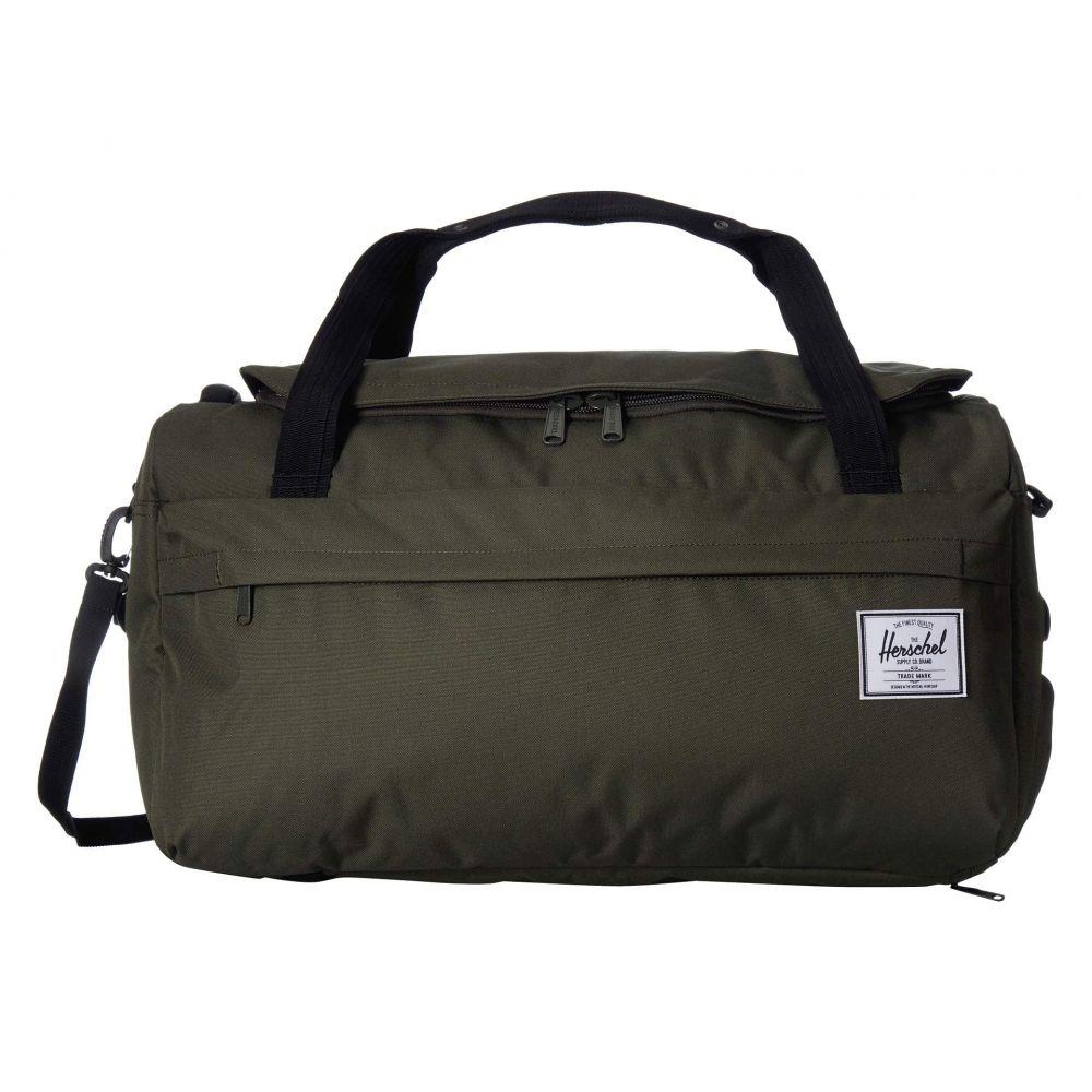 ハーシェル サプライ Herschel Supply Co. レディース バッグ ボストンバッグ・ダッフルバッグ【Outfitter Luggage 50 L】Dark Olive
