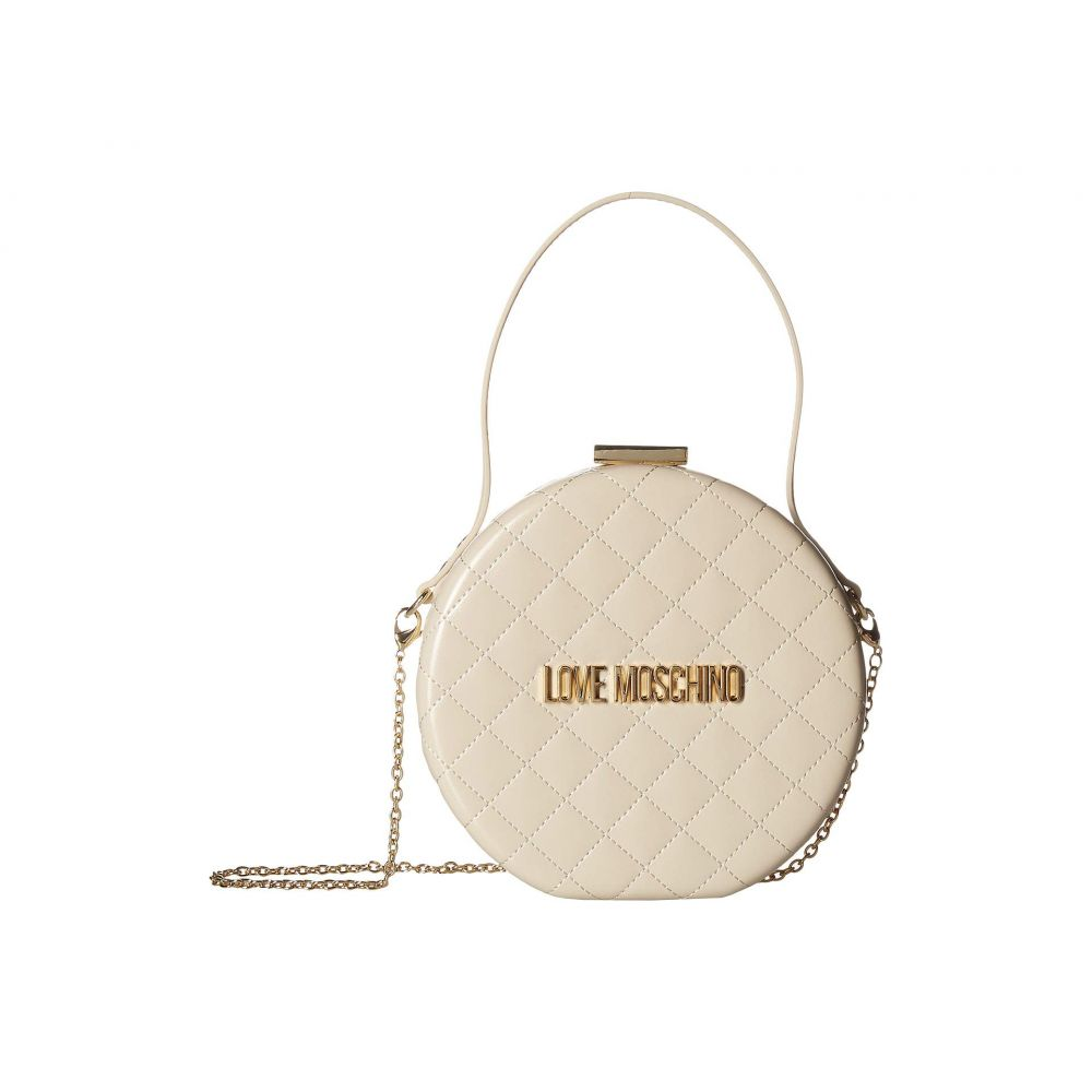 モスキーノ LOVE Moschino レディース バッグ ショルダーバッグ【Circular Chain Purse】Avorio