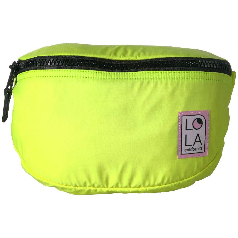 ローラ LOLA レディース バッグ ボディバッグ・ウエストポーチ【Moonbeam Large Bum Bag】Fluo