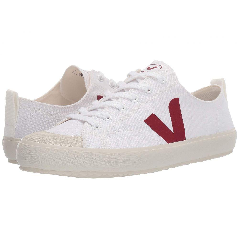 ヴェジャ VEJA レディース シューズ・靴 スニーカー【Nova】White/Marsala Canvas