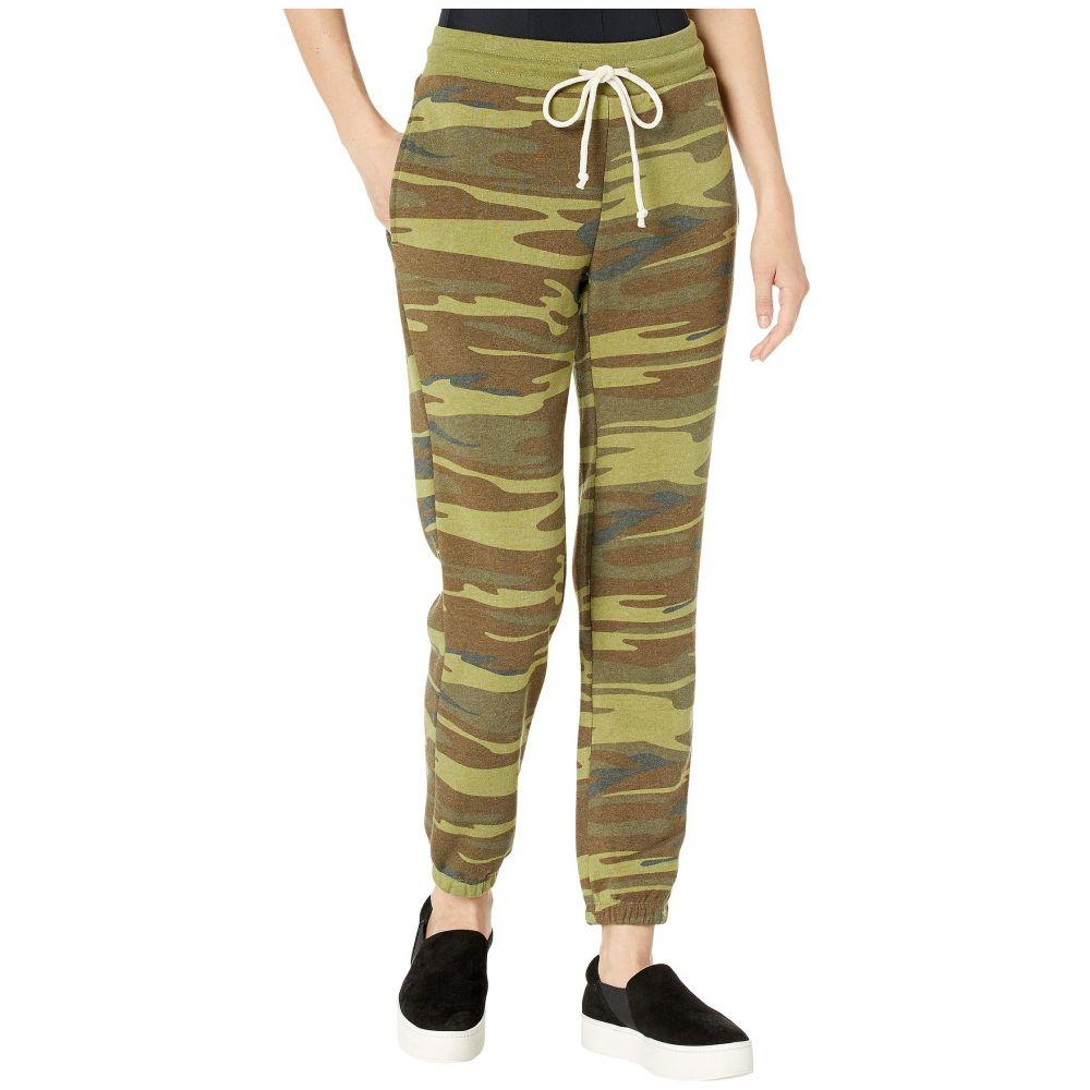 オルタナティヴ Alternative レディース ボトムス・パンツ ジョガーパンツ【Classic Printed Eco-Fleece Jogger Pants】Camo