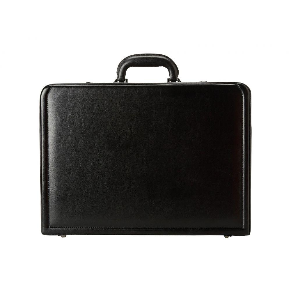 パソコンバッグ【Manhattan - Cole メンズ Computer With ケネス Removable Expandable Kenneth コール Computer Attache 4-4.75' バッグ Reaction Sleeve】Black Leather