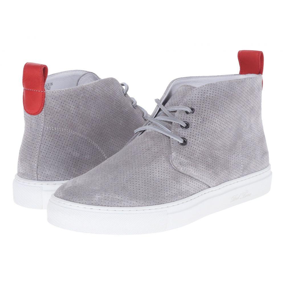 デル トロ Del Toro メンズ シューズ・靴 スニーカー【High Top Chukka Sneaker】Grey Perf