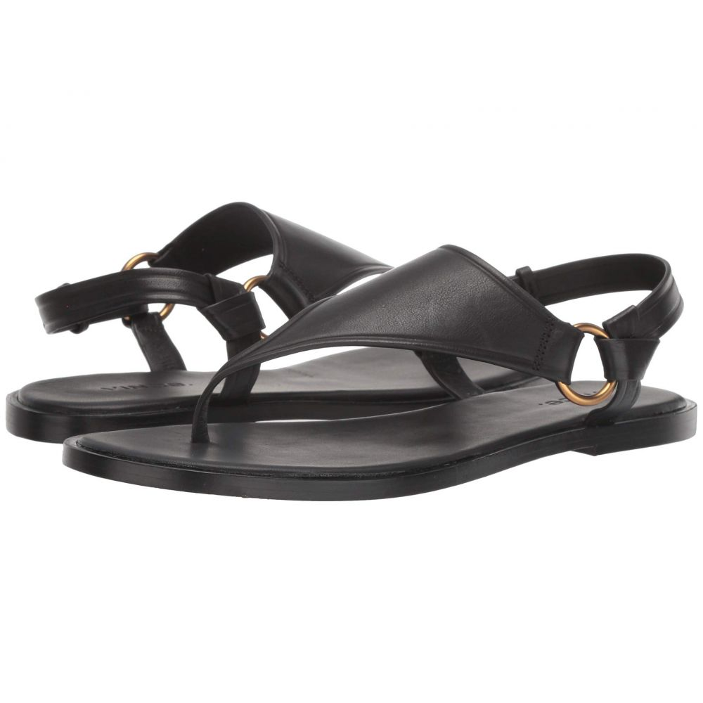 ヴィンス Vince レディース シューズ・靴 ビーチサンダル【Pharis】Black Lucca Leather