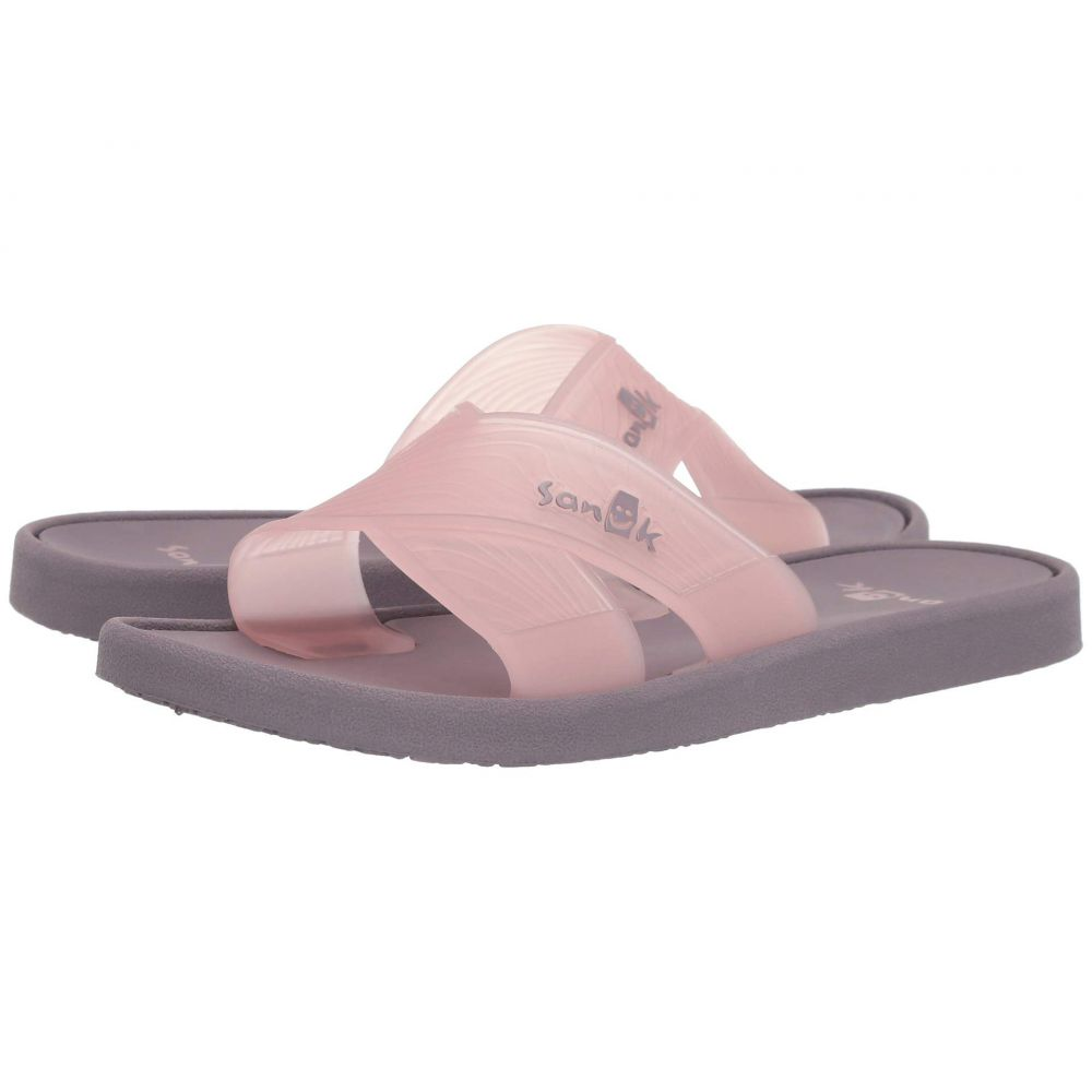 サヌーク Sanuk レディース シューズ・靴 ビーチサンダル【Beachwalker Slide TX】Woodrose