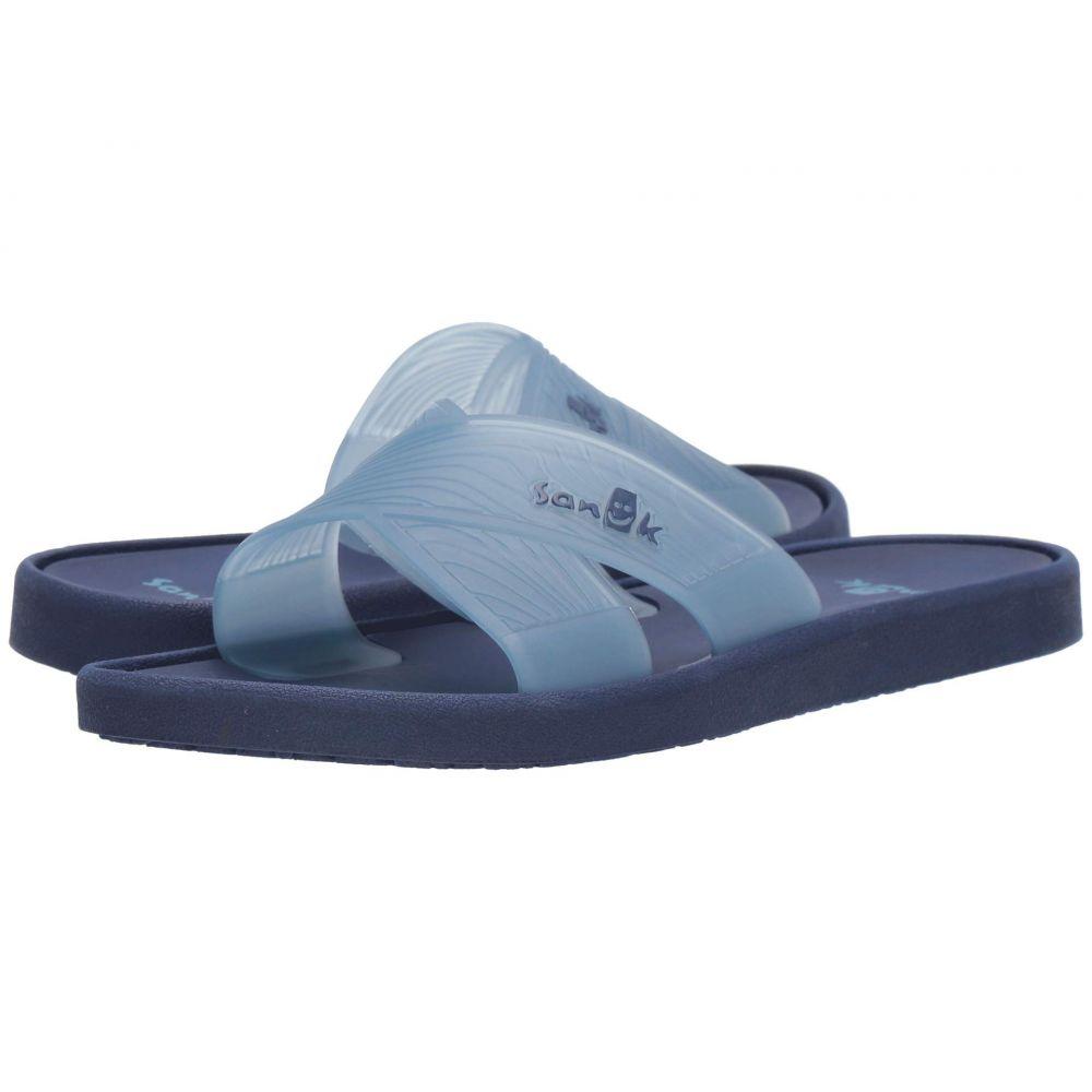 サヌーク Sanuk レディース シューズ・靴 ビーチサンダル【Beachwalker Slide TX】Provincial Blue