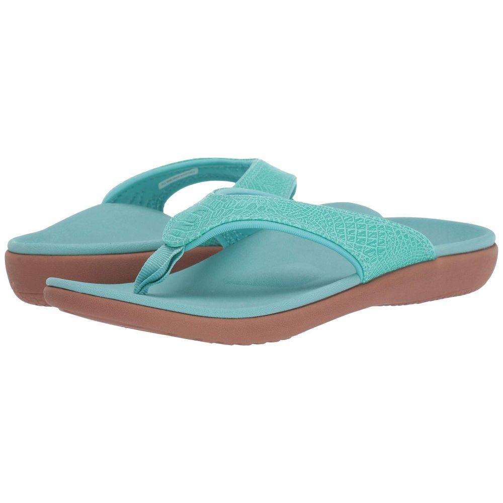 スペンコ Spenco レディース シューズ・靴 ビーチサンダル【Yumi 2 Croco】Turquoise