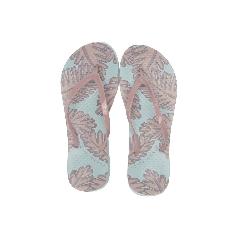 バイオニック VIONIC レディース シューズ・靴 ビーチサンダル【Noosa Palm】Light Blue/Pink
