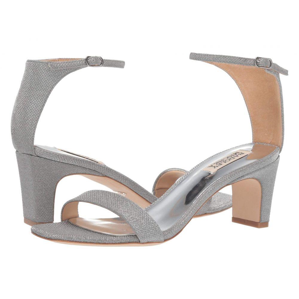 バッジェリー ミシュカ Badgley Mischka レディース シューズ・靴 サンダル・ミュール【Aida】Silver Diamond Textile