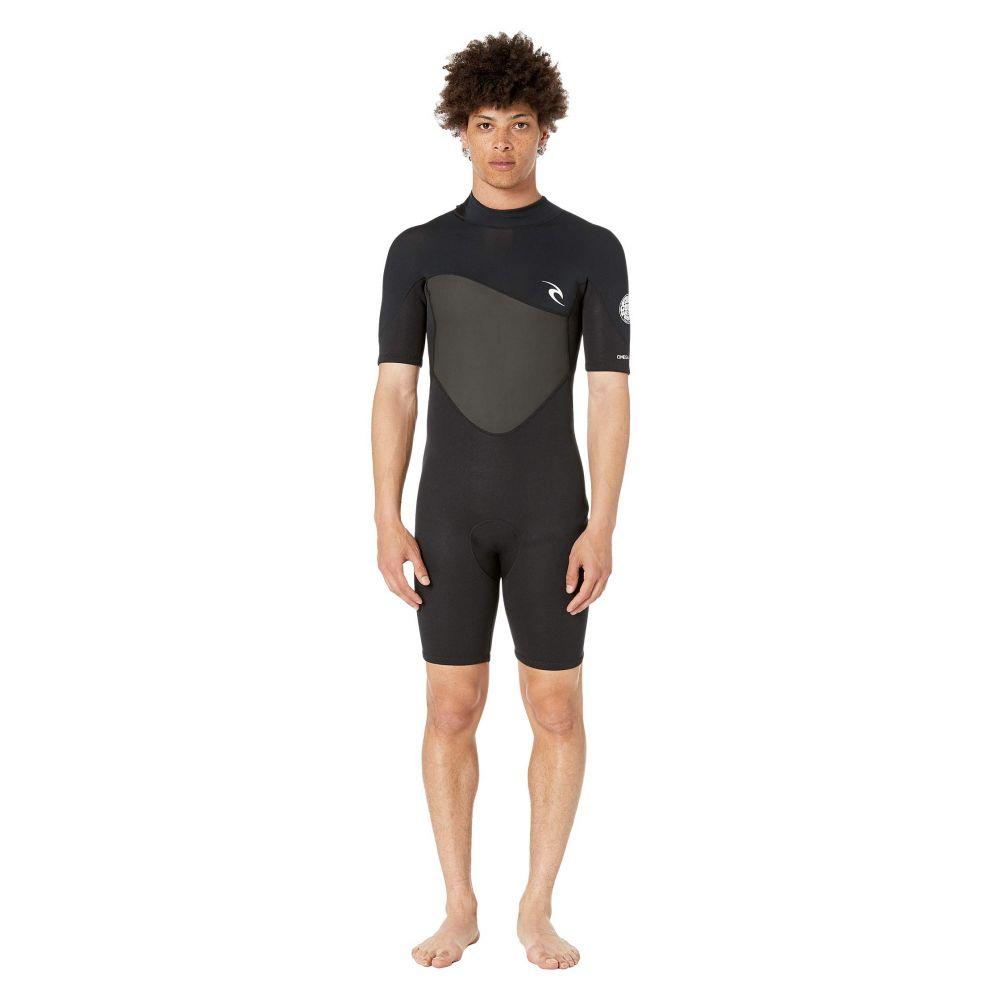 リップカール Rip Curl メンズ 水着・ビーチウェア ウェットスーツ【1.5 mm Omega Short Sleeve Spring Suit】Black
