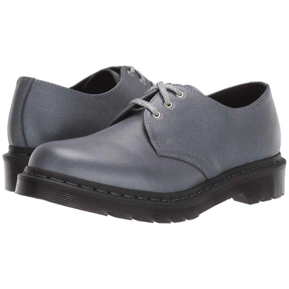 ドクターマーチン Dr. Martens レディース シューズ・靴 ローファー・オックスフォード【1461 Core】Gunmetal Metallic Virginia