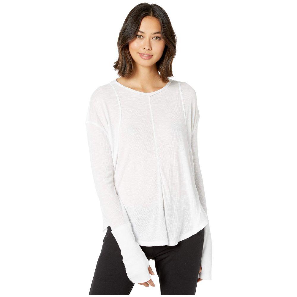 フリーピープル FP Movement レディース トップス Tシャツ【Lay Up T-Shirt】White