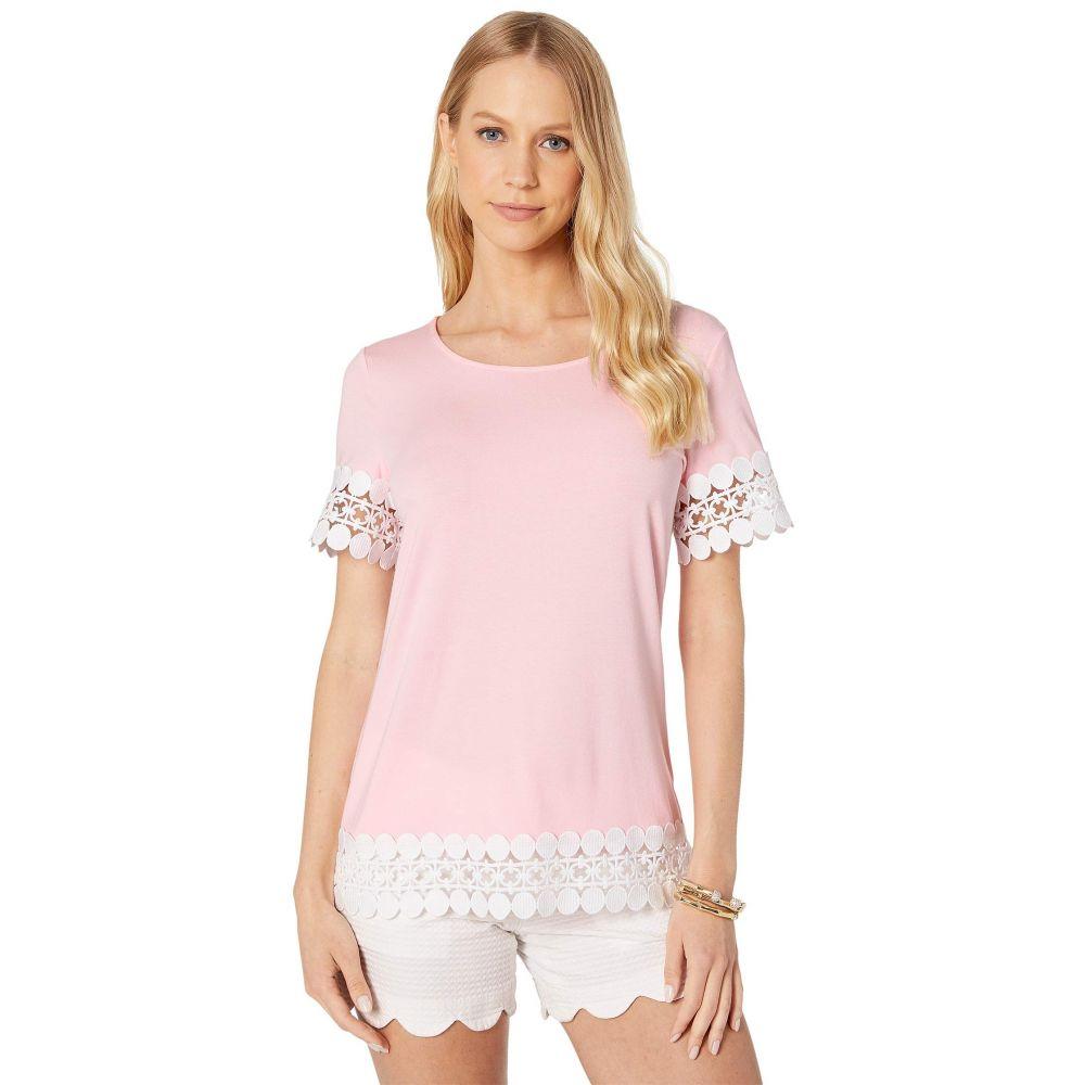 リリーピュリッツァー Lilly Pulitzer レディース トップス Tシャツ【Hayes Top】Pink Tropics Tint