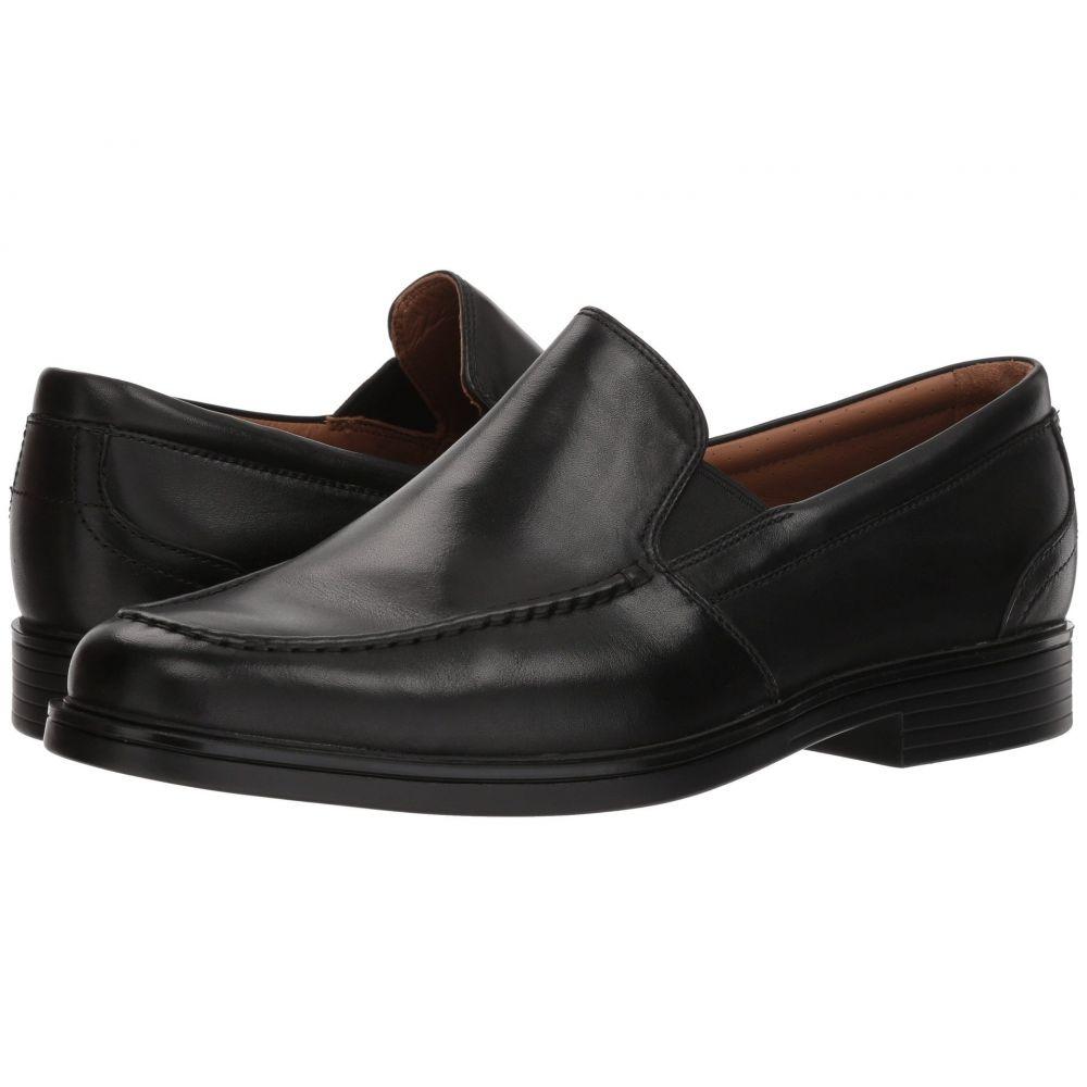 クラークス Clarks メンズ シューズ・靴 ローファー【Un Aldric Slip】Black Leather