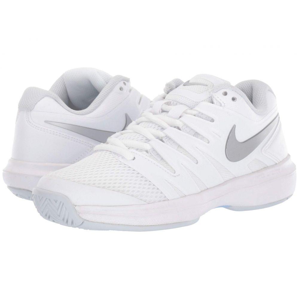 ナイキ Nike レディース シューズ・靴 スニーカー【Air Zoom Prestige】White/Metallic Silver/Pure Platinum 1