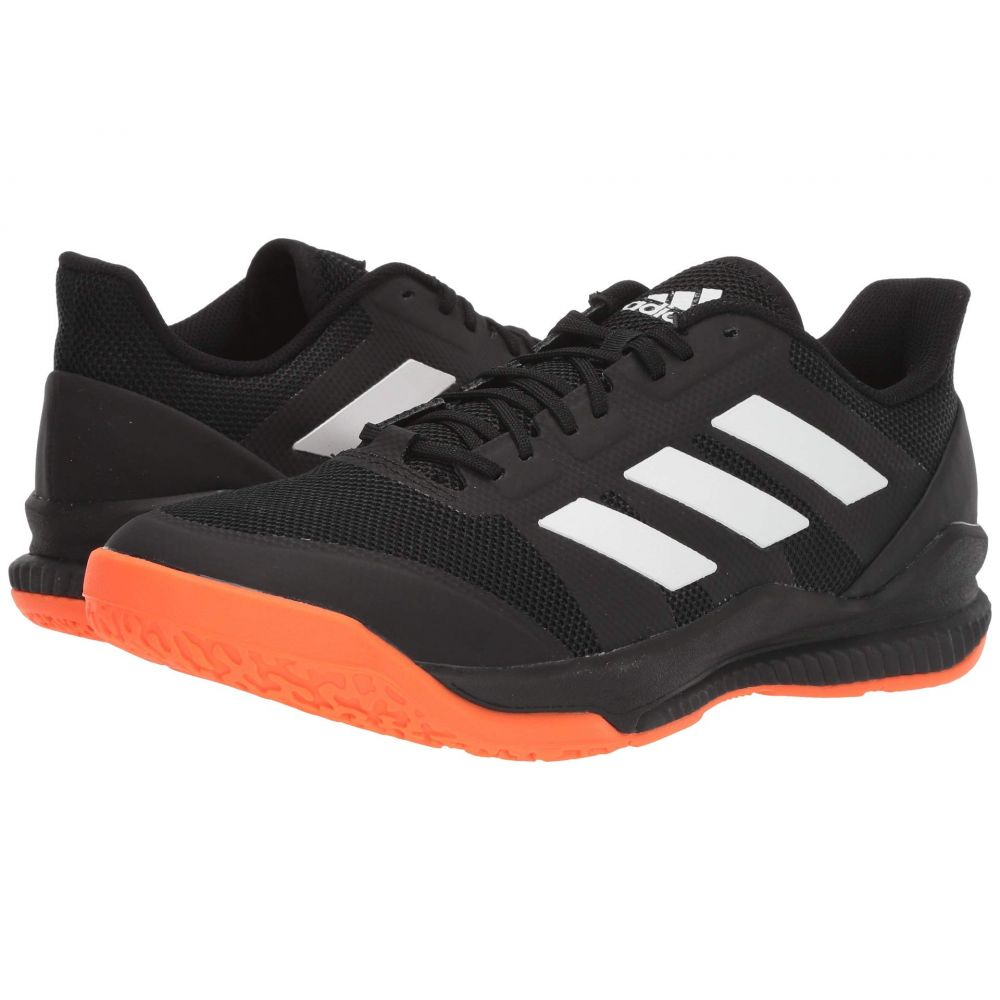 アディダス adidas レディース シューズ・靴 スニーカー【Stabil Bounce】Core Black/Footwear White/Solar Orange