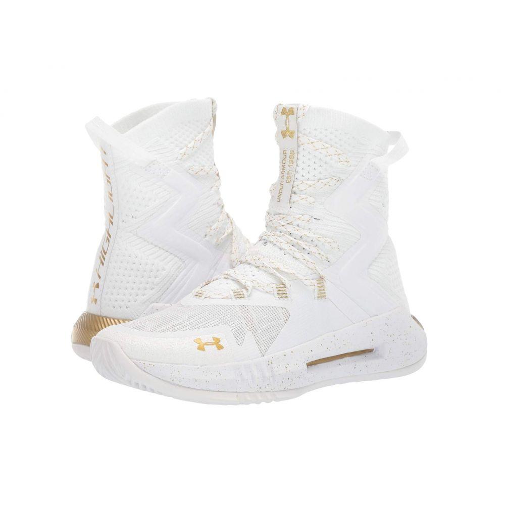 アンダーアーマー Under Armour レディース バレーボール シューズ・靴【UA Highlight Ace 2.0】White/White/Metallic Gold
