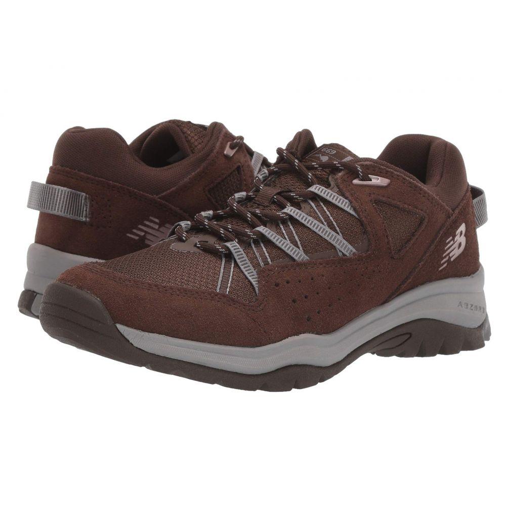 ニューバランス New Balance レディース シューズ・靴 スニーカー【669v2】Chocolate Brown/Chocolate Brown