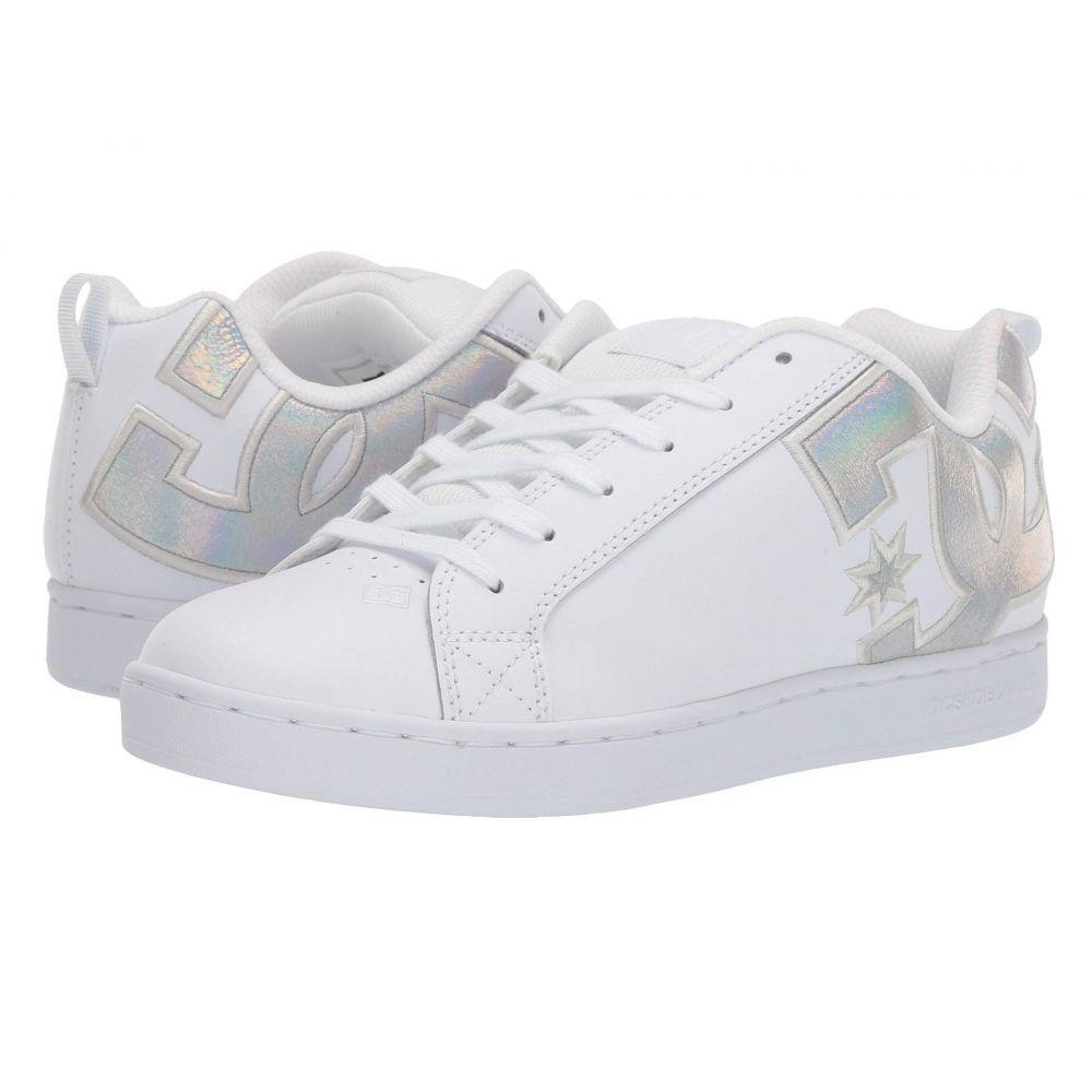 ディーシー DC レディース シューズ・靴 スニーカー【Court Graffik W】White/Splatter