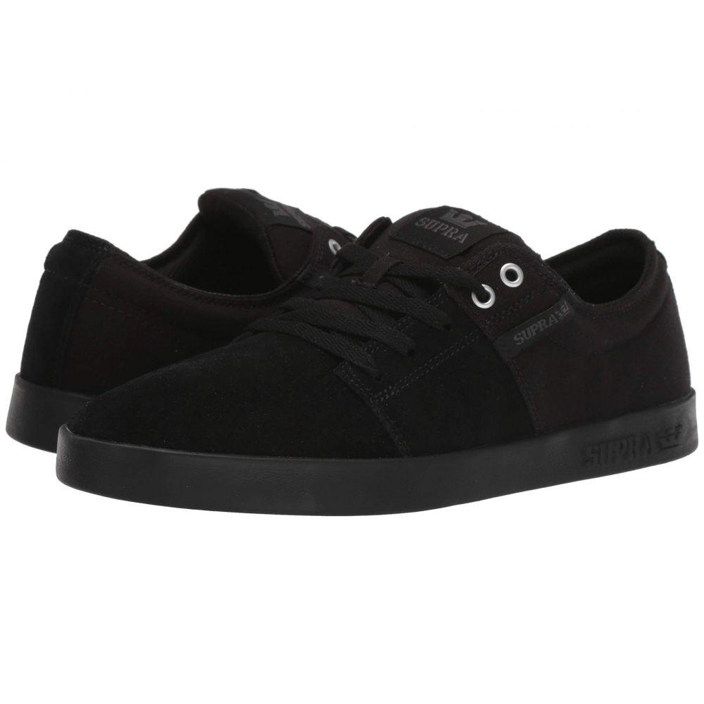 スープラ Supra メンズ シューズ・靴 スニーカー【Stacks II】Black