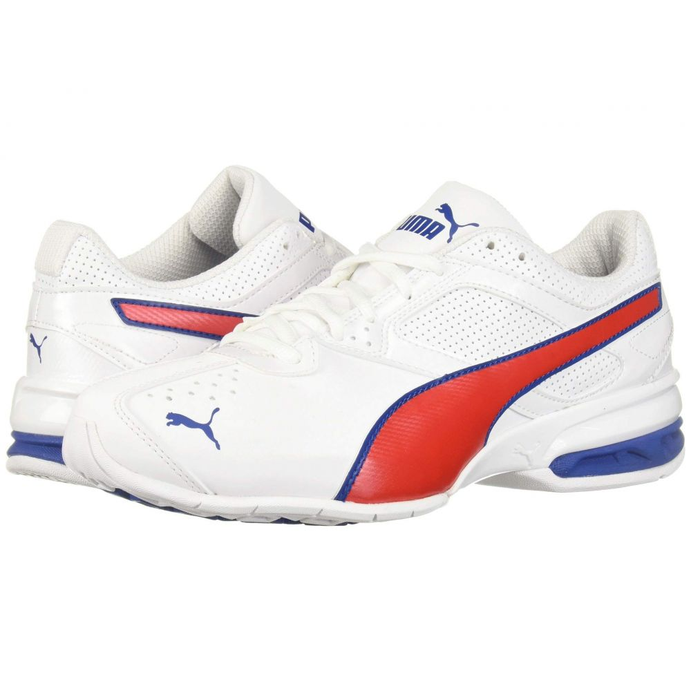 プーマ PUMA メンズ シューズ・靴 スニーカー【Tazon 6 FM】Puma White/Galaxy Blue/High Risk Red