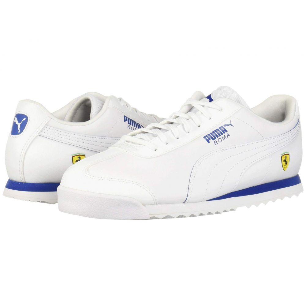 プーマ PUMA メンズ シューズ・靴 スニーカー【SF Roma】Puma White/Puma White/Galaxy Blue