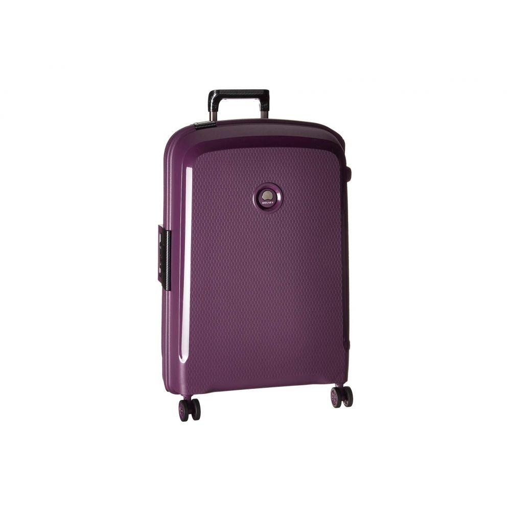 デルシー Delsey レディース バッグ スーツケース・キャリーバッグ【26' Belfort DLX Spinner Upright】Purple