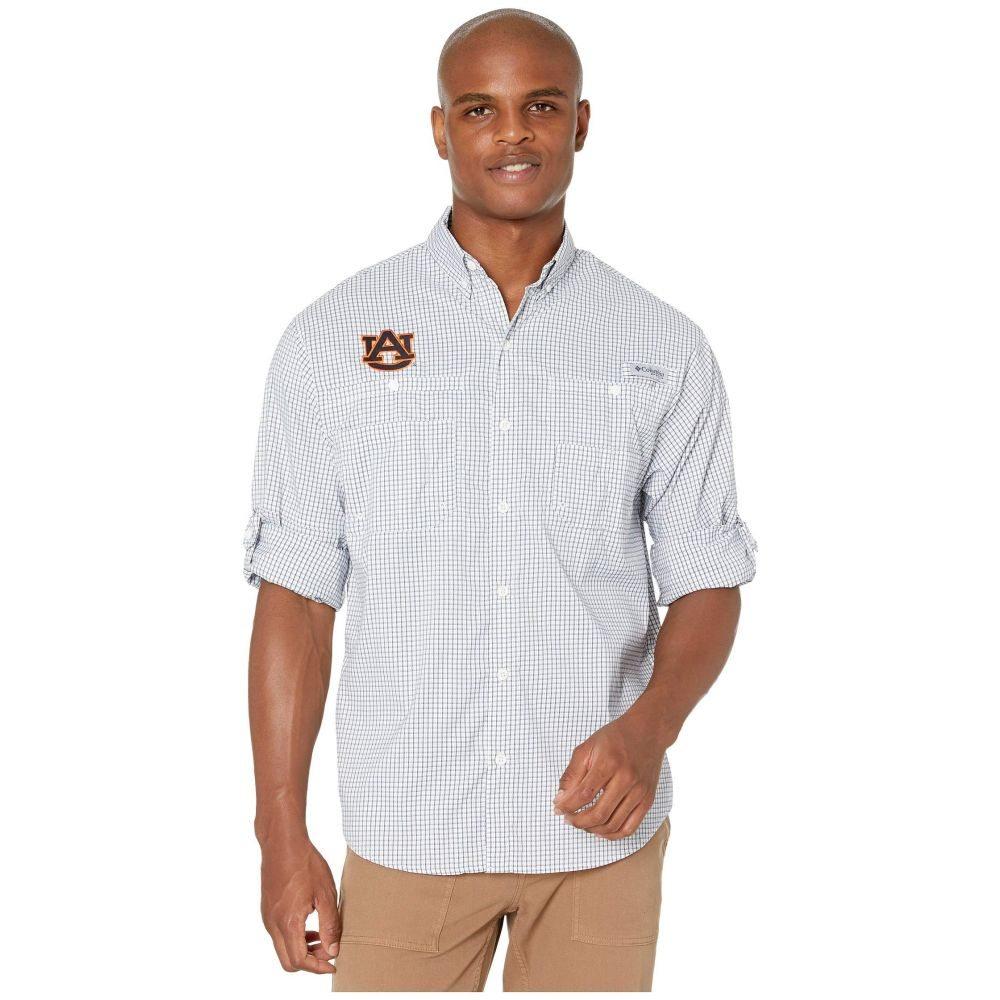コロンビア Columbia College メンズ トップス【Auburn Tigers Collegiate Super Tamiami(TM) Long Sleeve】Navy Gingham