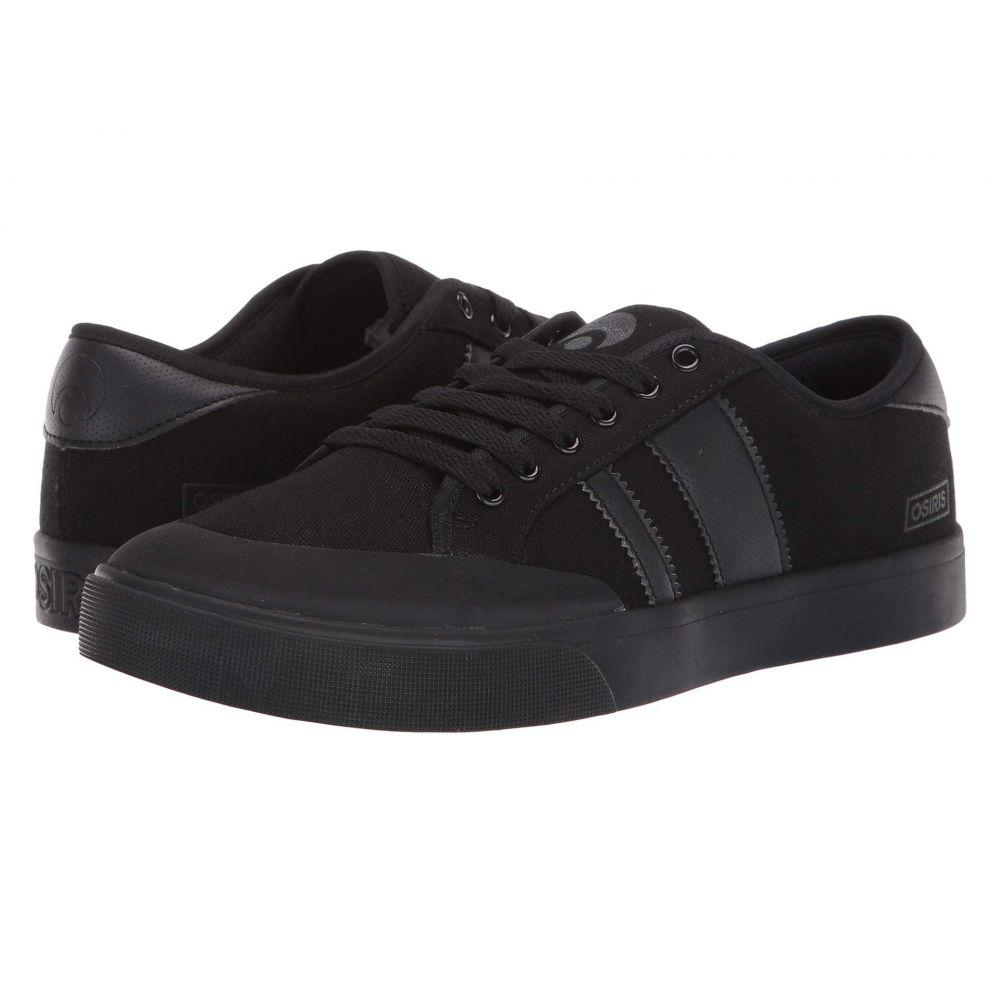 オサイラス Osiris メンズ シューズ・靴 スニーカー【Kort VLC】Black/Black