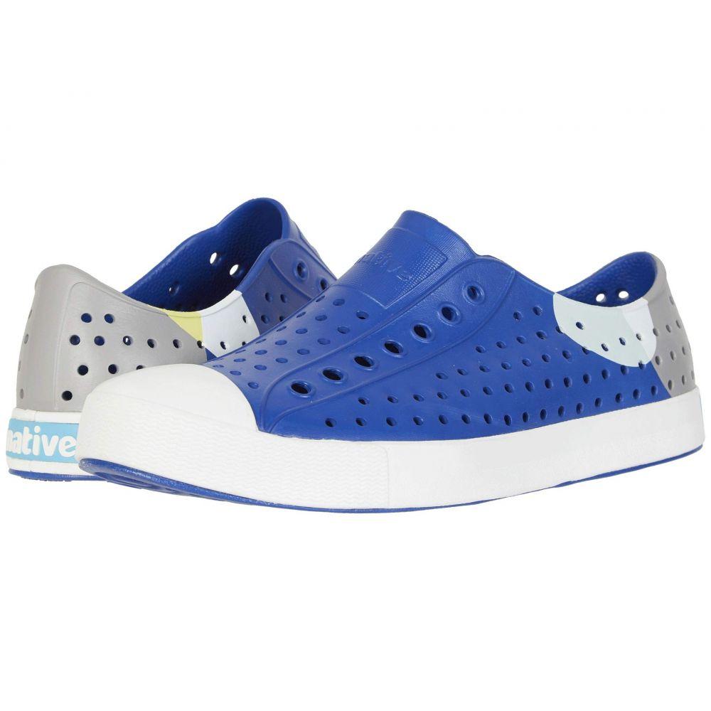 ネイティブ シューズ Native Shoes レディース シューズ・靴 スニーカー【Jefferson Block】Marine Blue/Shell White/Dot Block
