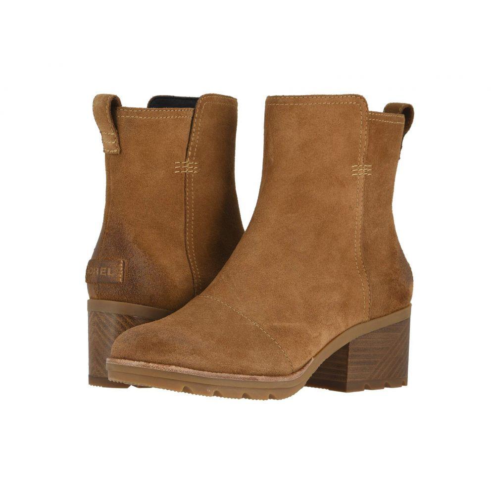 ソレル SOREL レディース シューズ・靴 ブーツ【Cate(TM) Bootie】Camel Brown