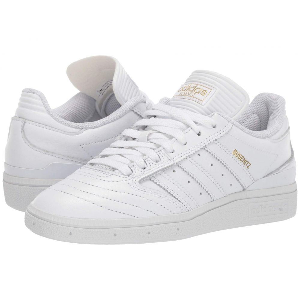 アディダス adidas Skateboarding メンズ シューズ・靴 スニーカー【Busenitz】Footwear White/Gold Metallic/Footwear White