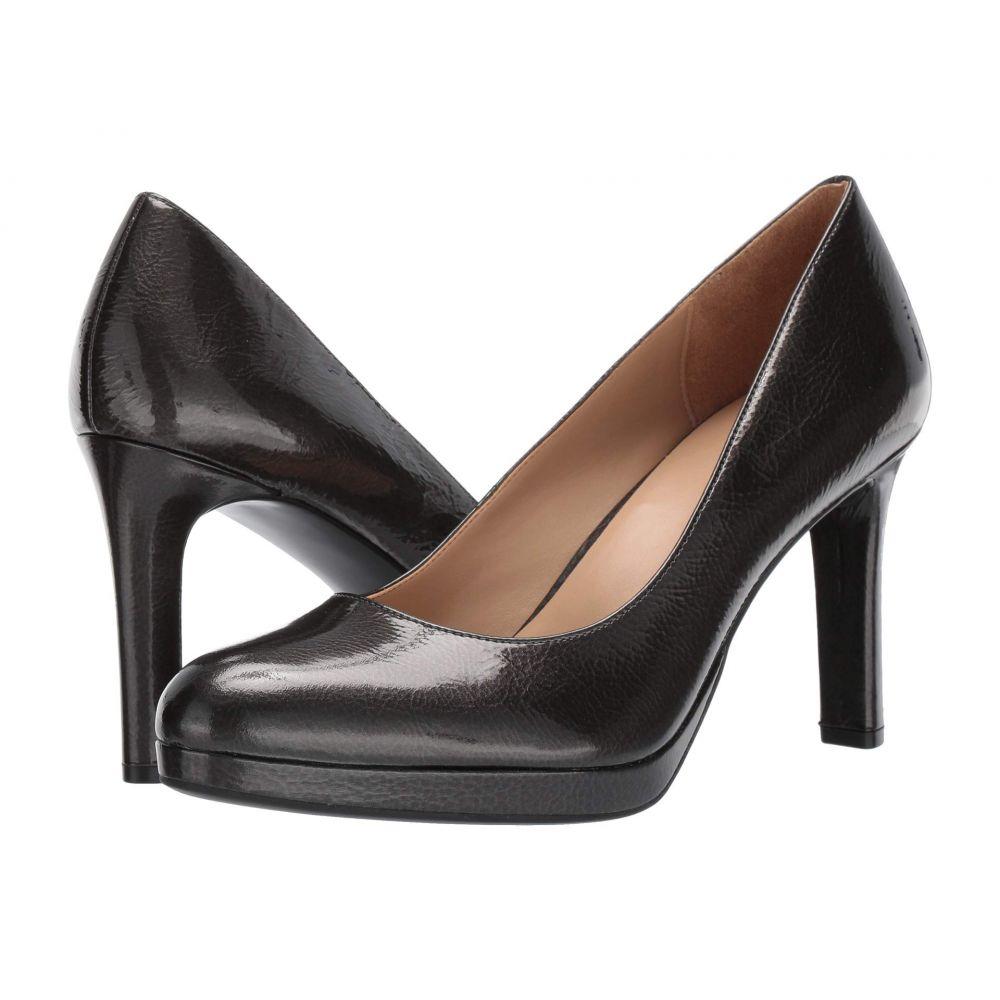 ナチュラライザー Naturalizer レディース シューズ・靴 パンプス【Teresa】Gunmetal Crinkle Leather