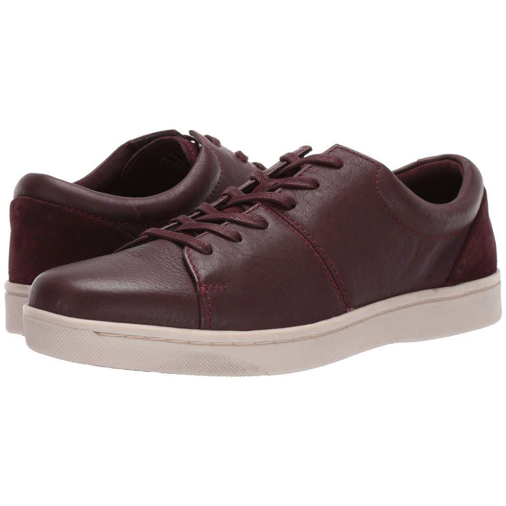 クラークス Clarks メンズ シューズ・靴 スニーカー【Kitna Vibe】Wine Leather