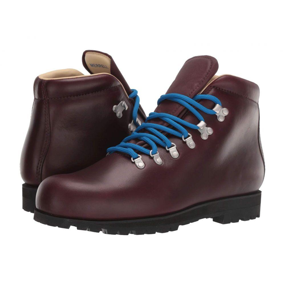 メレル Merrell メンズ ハイキング・登山 シューズ・靴【Wilderness Legend Waterproof】Oxblood