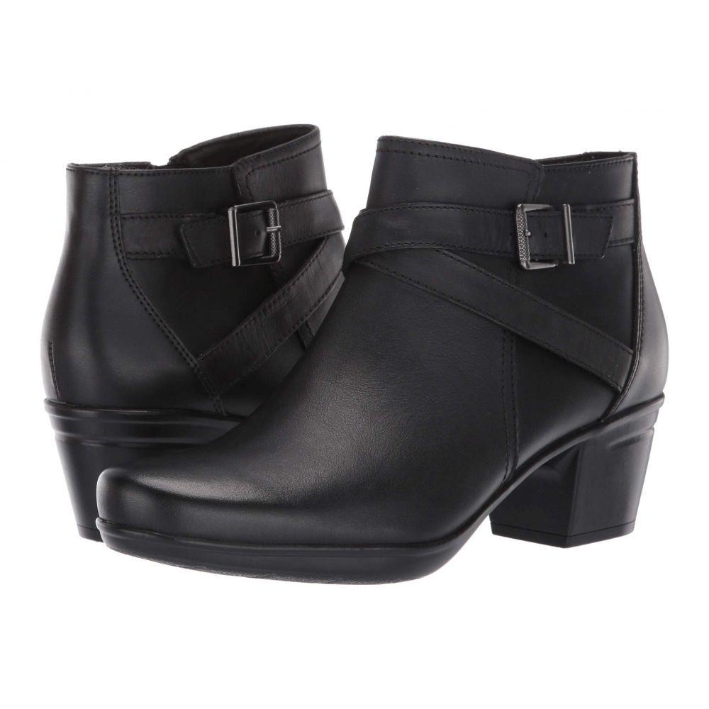 クラークス Clarks レディース シューズ・靴 ブーツ【Emslie Cyndi】Black Leather
