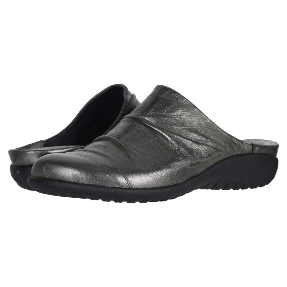 ナオト Naot レディース シューズ・靴 サンダル・ミュール【Paretao】Crinkle Steel Leather