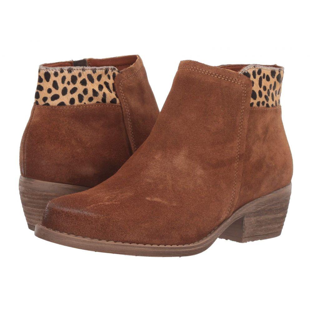 エリック マイケル Eric Michael レディース シューズ・靴 ブーツ【Aria】Cognac/Cheetah