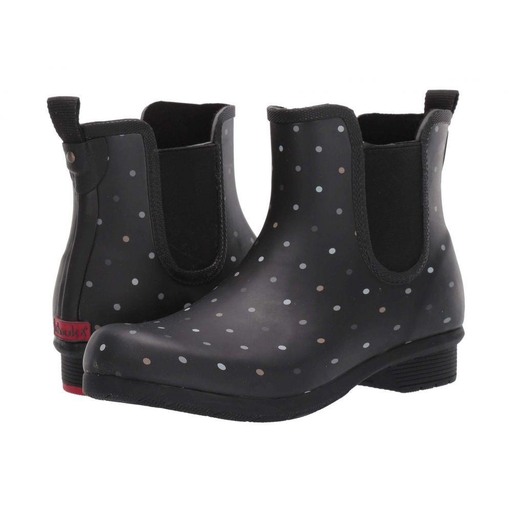 チューカ Chooka レディース シューズ・靴 ブーツ【Tonal Dot Chelsea】Black