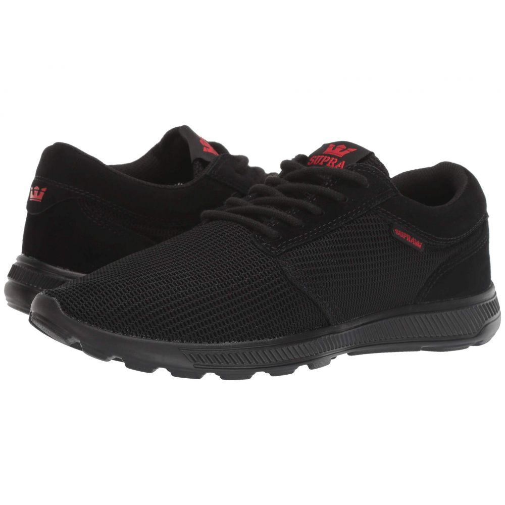 スープラ Supra メンズ シューズ・靴 スニーカー【Hammer Run】Black/Risk Red/Black