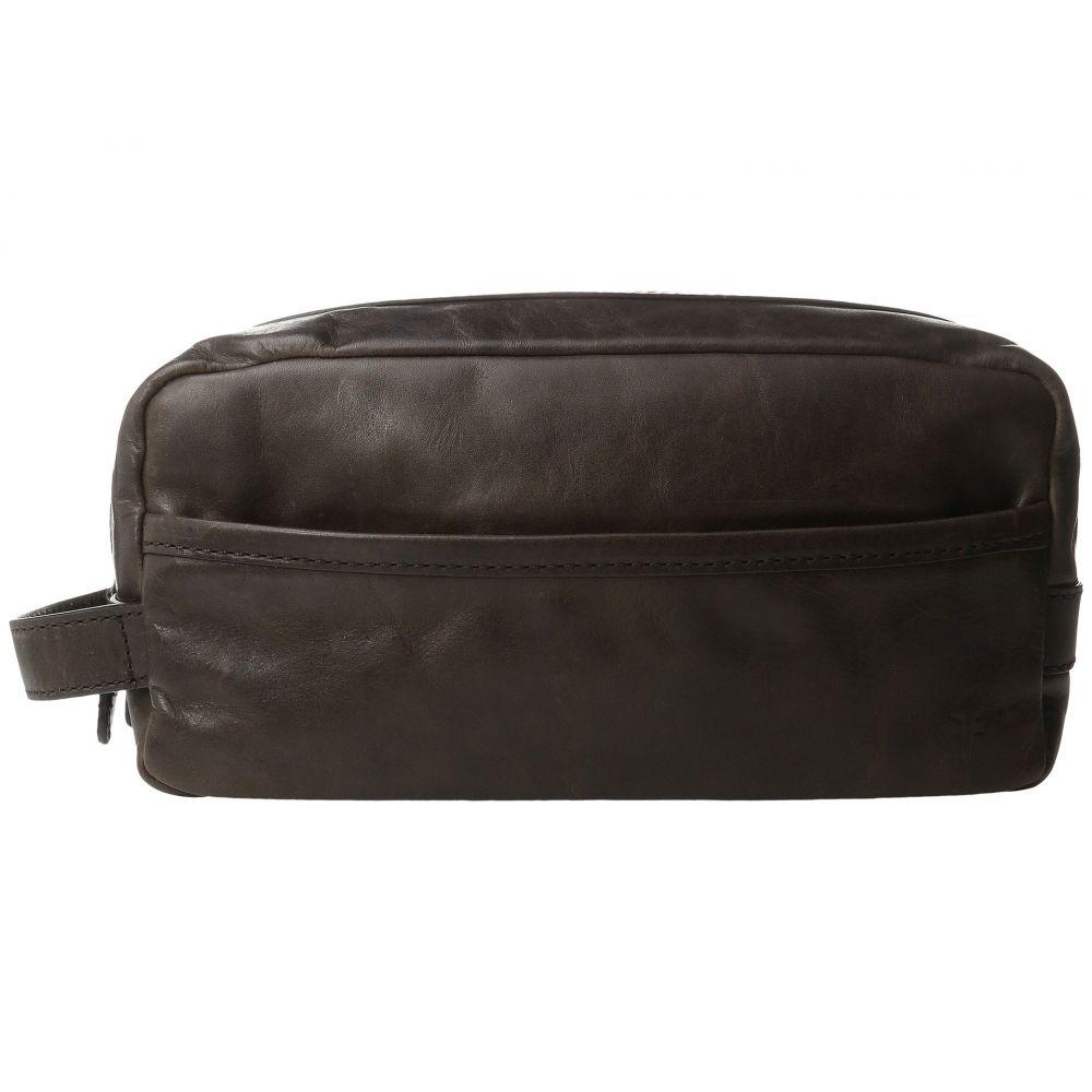 フライ Frye メンズ ポーチ【Logan Travel Large Bag】Slate Antique Pull Up
