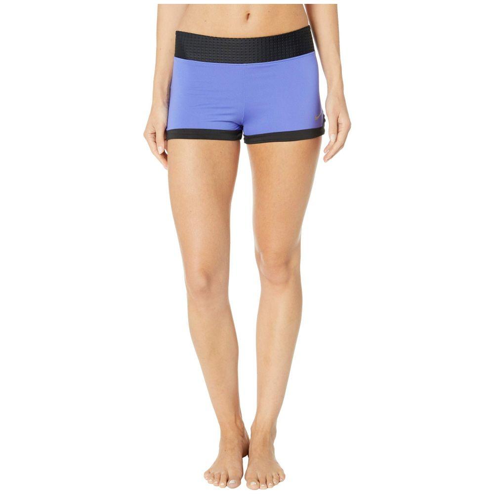 ナイキ Nike レディース 水着・ビーチウェア ボトムのみ【Solid Splice Kick Shorts】Sapphire