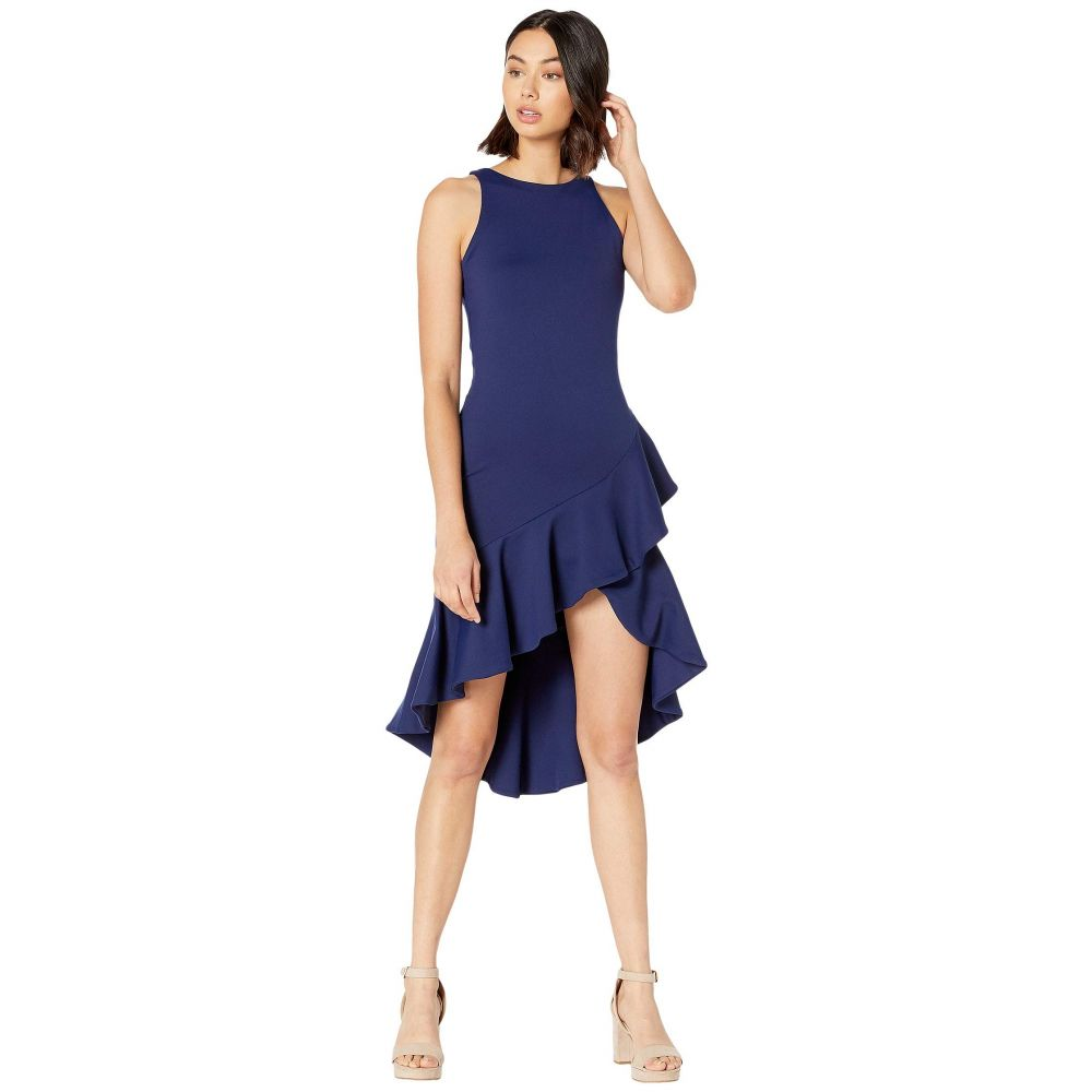 スサナ モナコ Susana Monaco レディース ワンピース・ドレス ワンピース【Ruffle Sleeveless Dress】Deep Sea